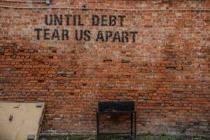 debt apart money